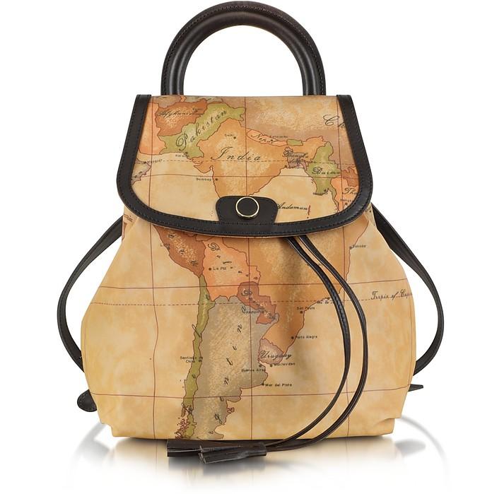 Geo Print Handle Soft Backpack - Alviero Martini 1A Classe