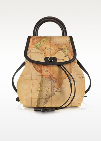 Geo Print Handle Soft Backpack - Alviero Martini 1A Classe