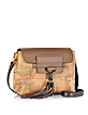 Happy Color Geo Classic Small Brown Crossbody Bag - Alviero Martini 1A Classe
