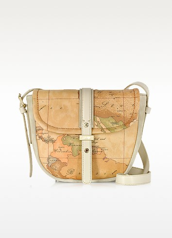 Geo 70's Grey-Beige Crossbody Bag - Alviero Martini 1A Classe