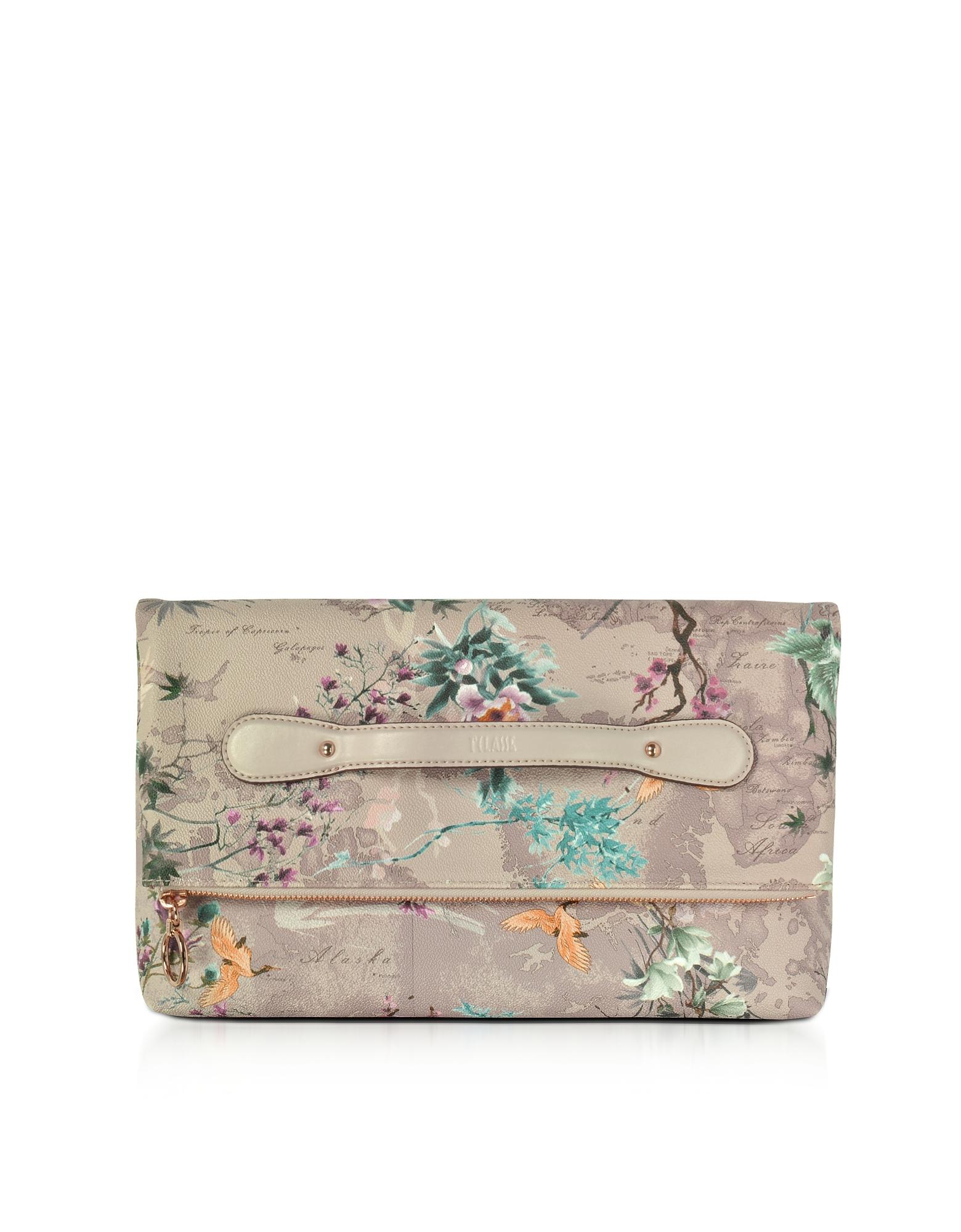 Alviero Martini 1A Classe Handbags, Oriental Garden Clutch