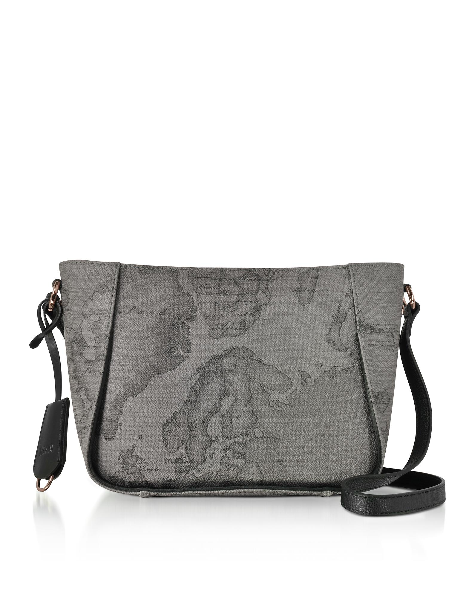 Alviero Martini 1A Classe Handbags, Dark Night Small Crossbody Bag