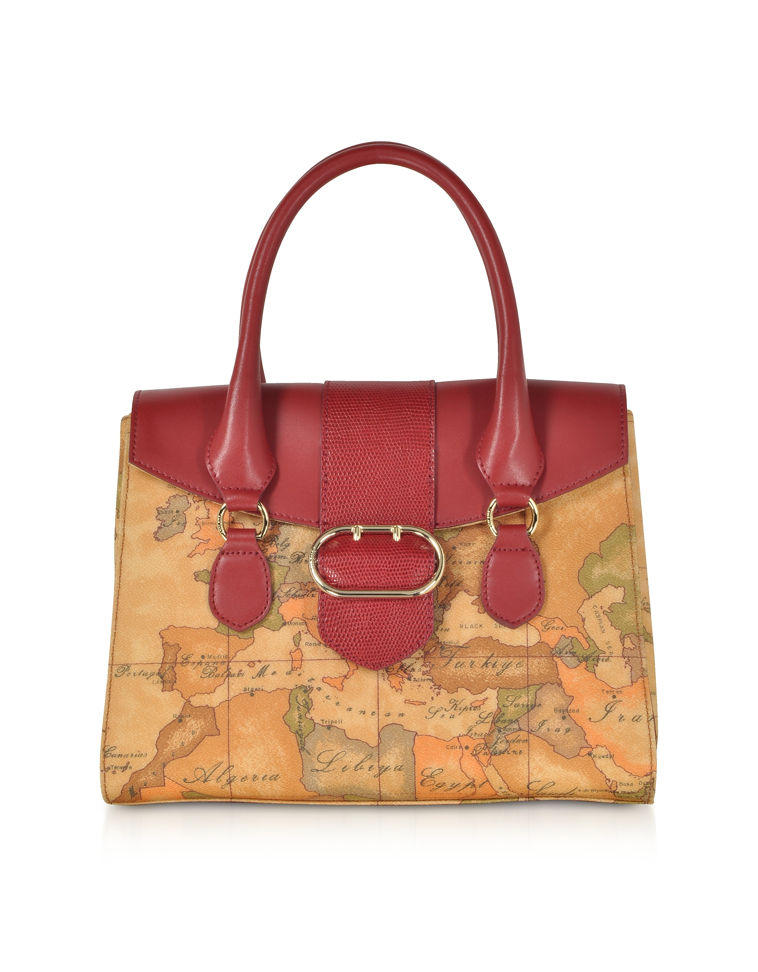 ALVIERO MARTINI 1A CLASSE WONDER GEO SATCHEL BAG