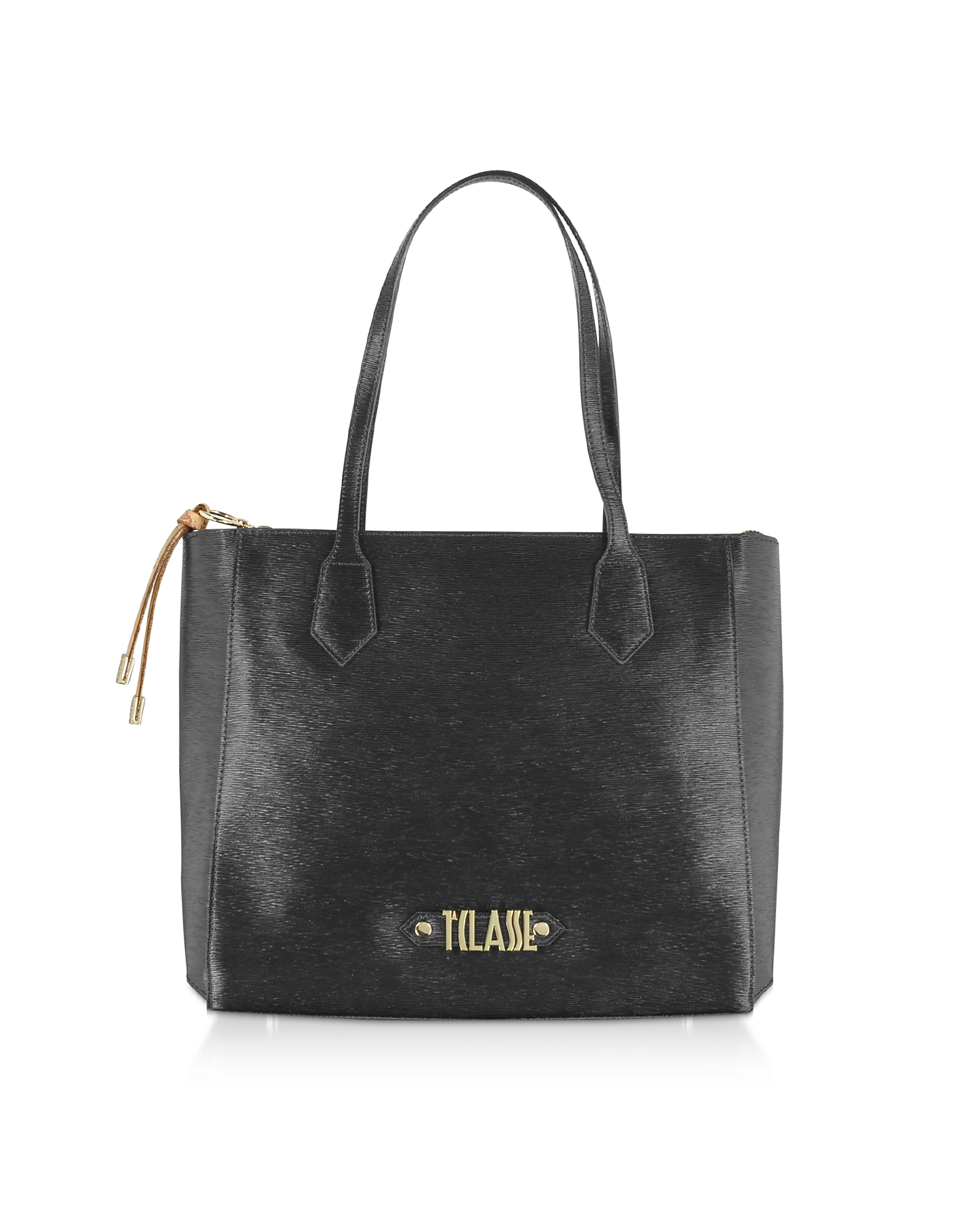 Alviero Martini 1A Classe Designer Handbags, Black Alegrìa Smile Tote Bag