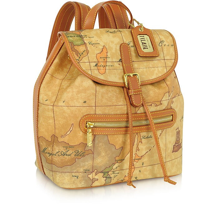 Geo Print Backpack - Alviero Martini