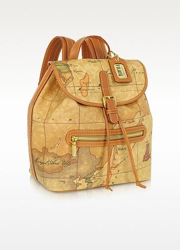 Geo Print Backpack - Alviero Martini