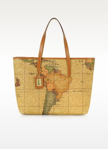 Geo Print Large Tote Bag - Alviero Martini 1A Classe