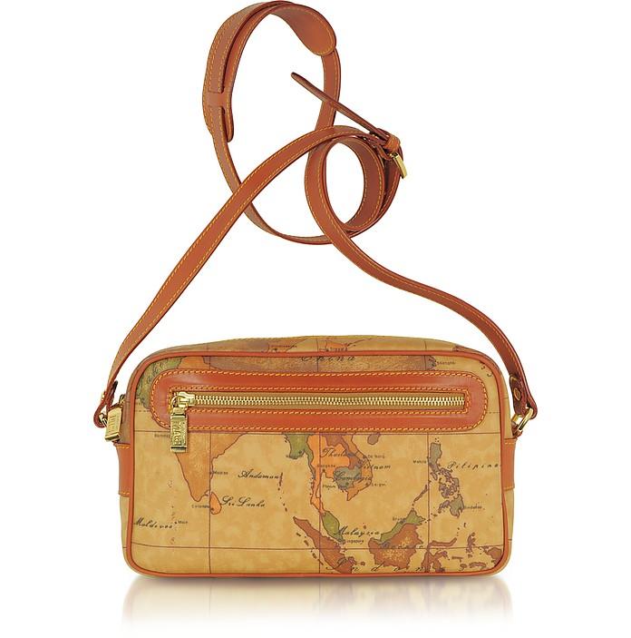 Geo Print Zippered Shoulder Bag - Alviero Martini 1A Classe