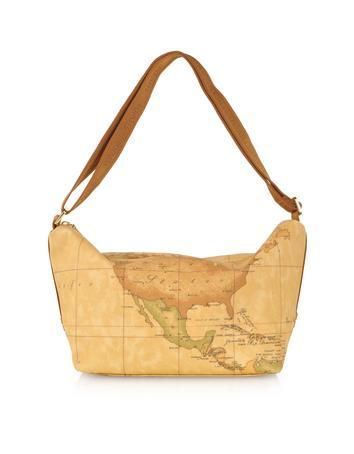 Lux-ID 208961 1a Prima Classe - Geo Printed Zip Shoulder Bag