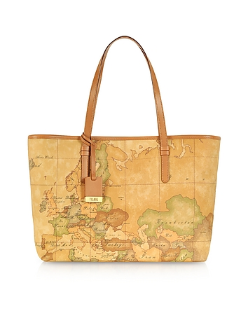 1a Prima Classe - Geo Printed Large 'New Basic' Tote Bag