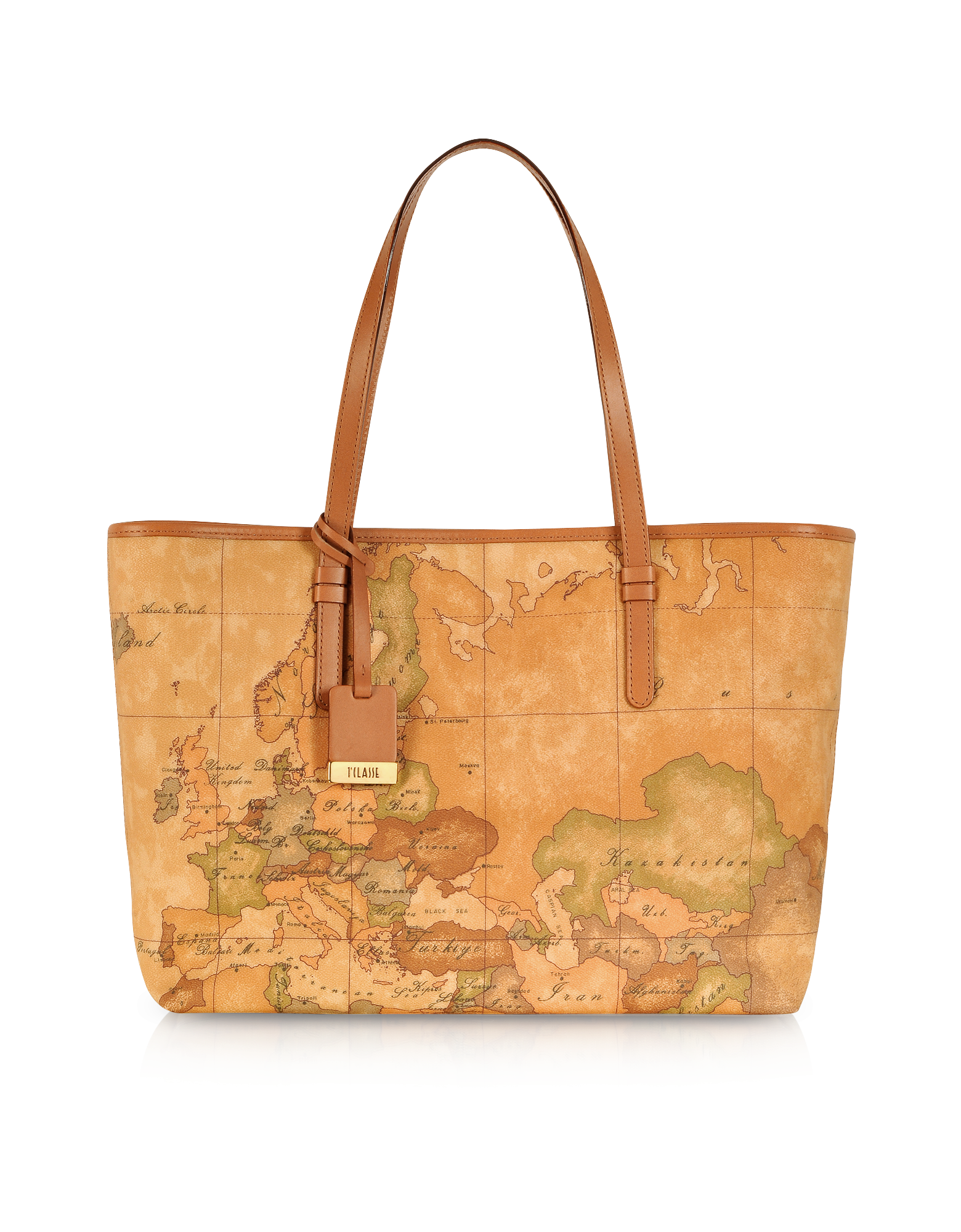 Image of 1a Prima Classe - Geo Printed Large 'New Basic' Tote Bag