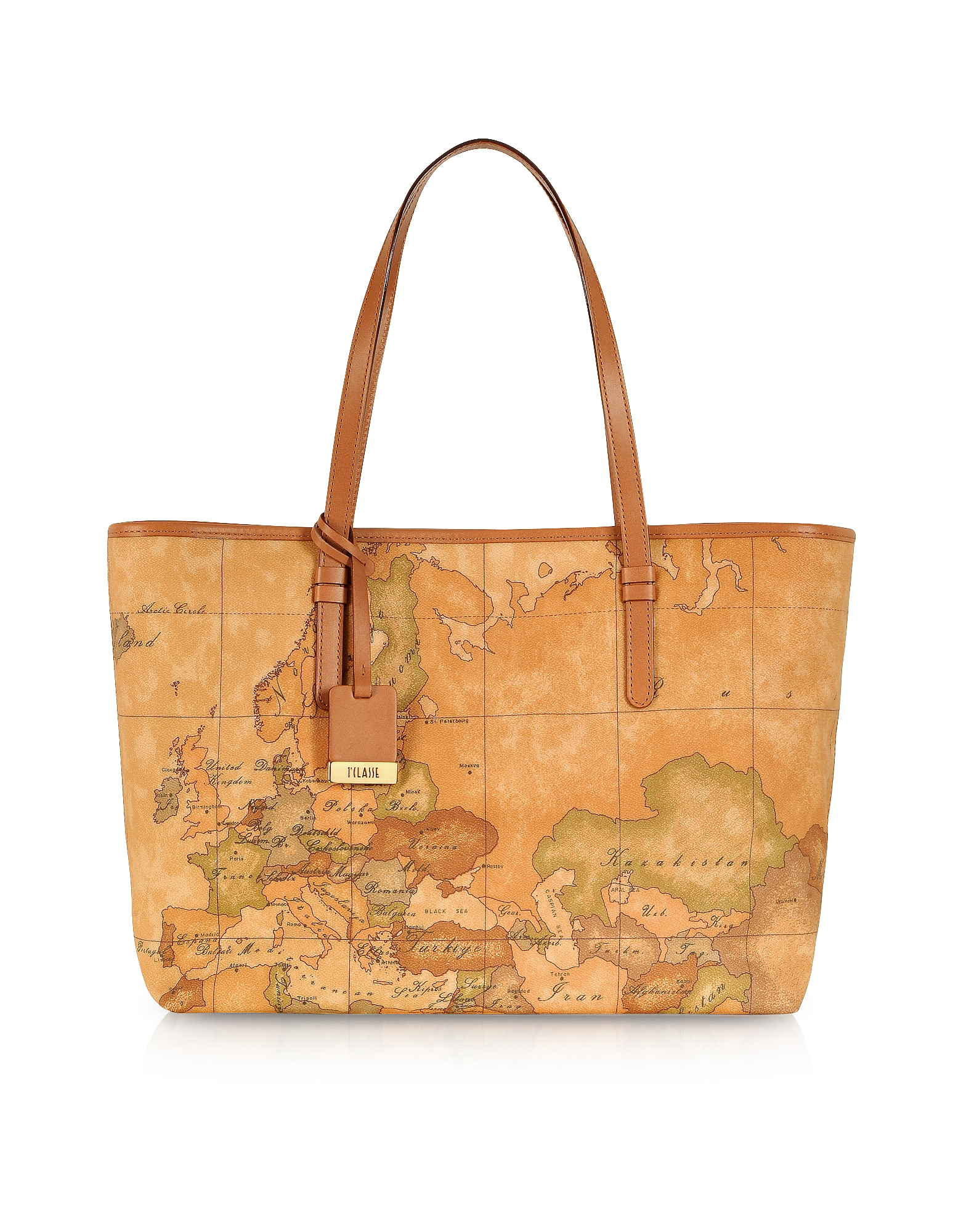 Alviero Martini 1A Classe Handbags, 1a Prima Classe - Geo Printed Large 'New Basic' Tote Bag
