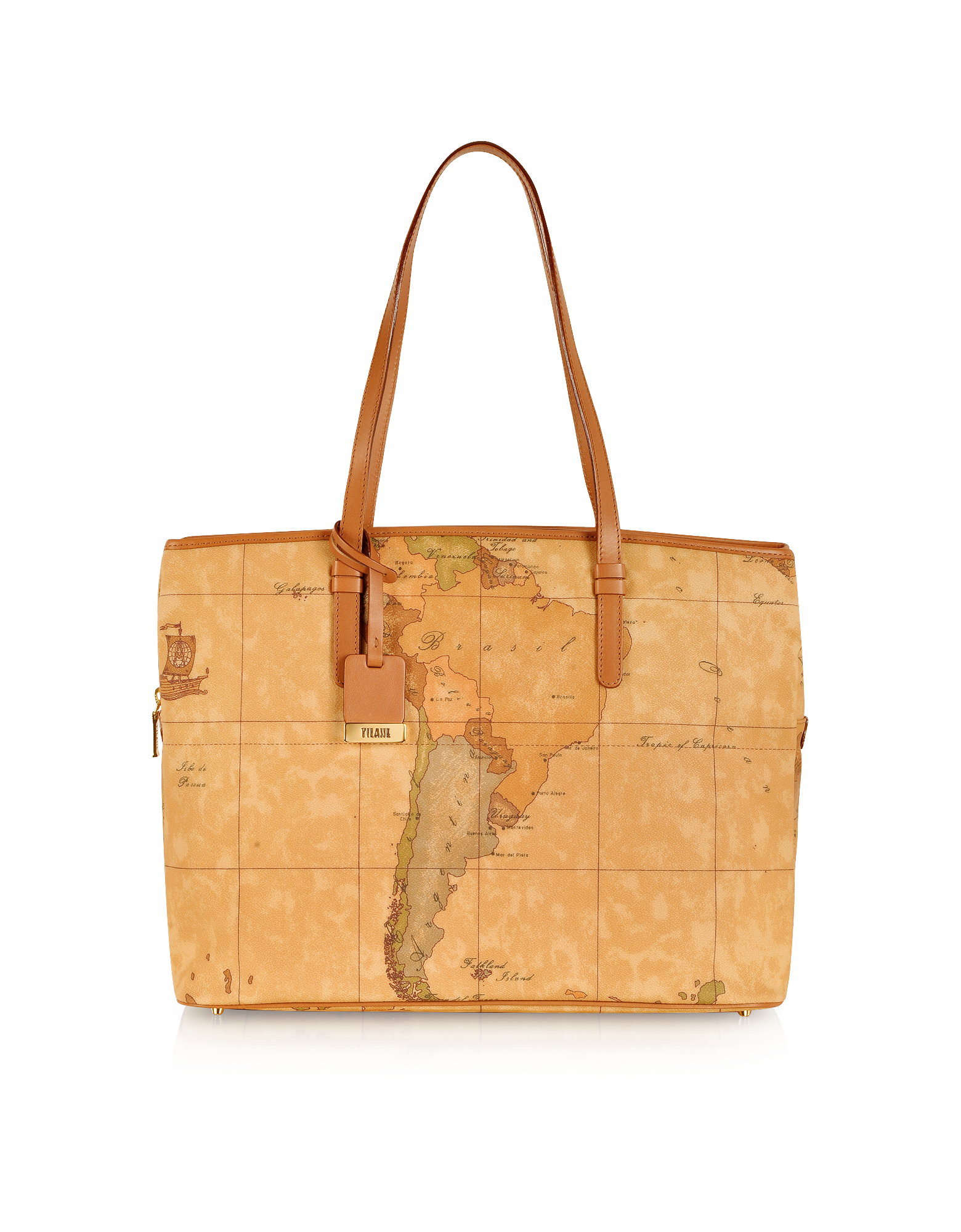 Image of 1a Prima Classe - Geo Printed Large Business New Classic Shoulder Bag
