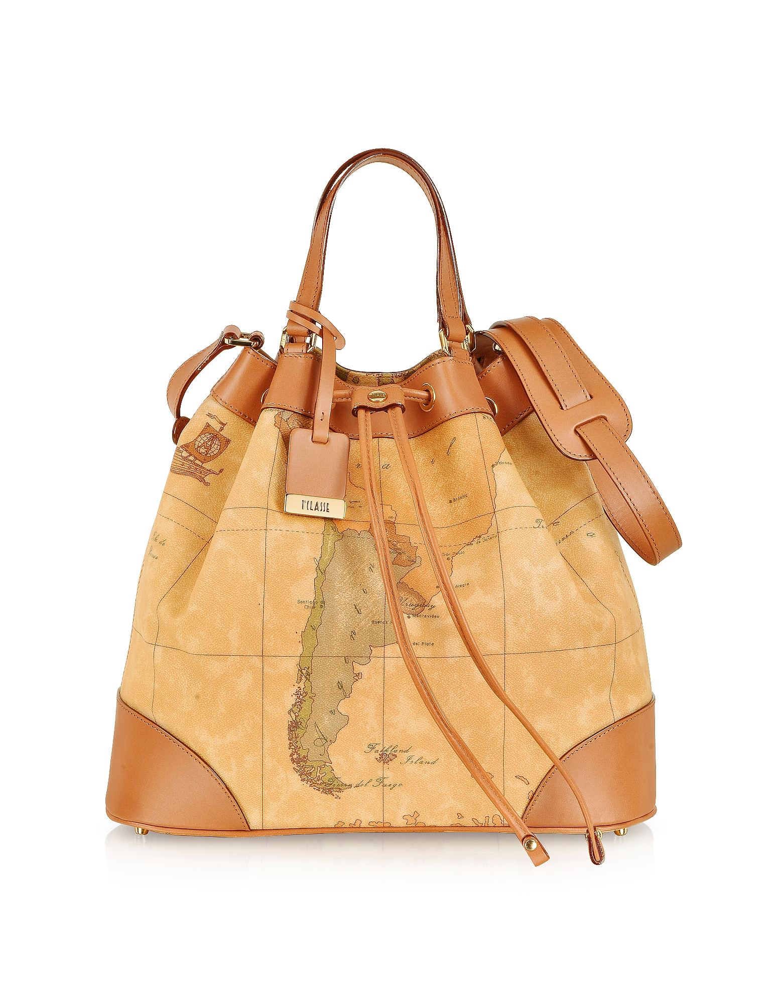 "1a Prima Classe - Geo Printed ""Neo Casual"" Bucket Bag"