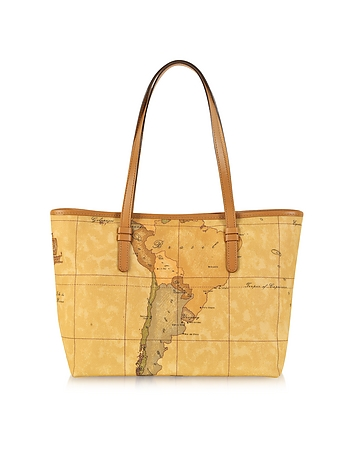 1a Prima Classe - Geo Printed Medium New Basic Tote Bag