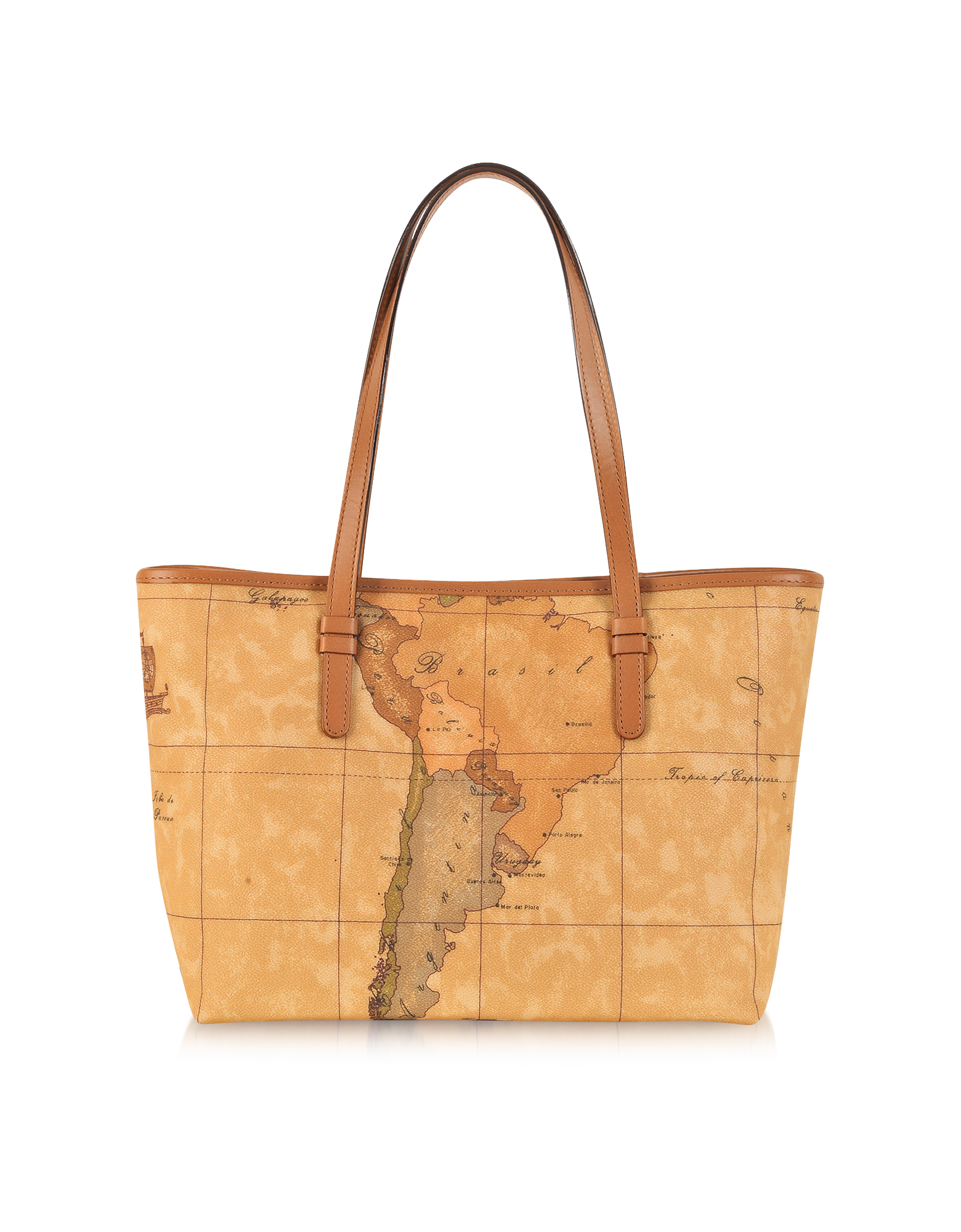 Image of 1a Prima Classe - Geo Printed Medium New Basic Tote Bag