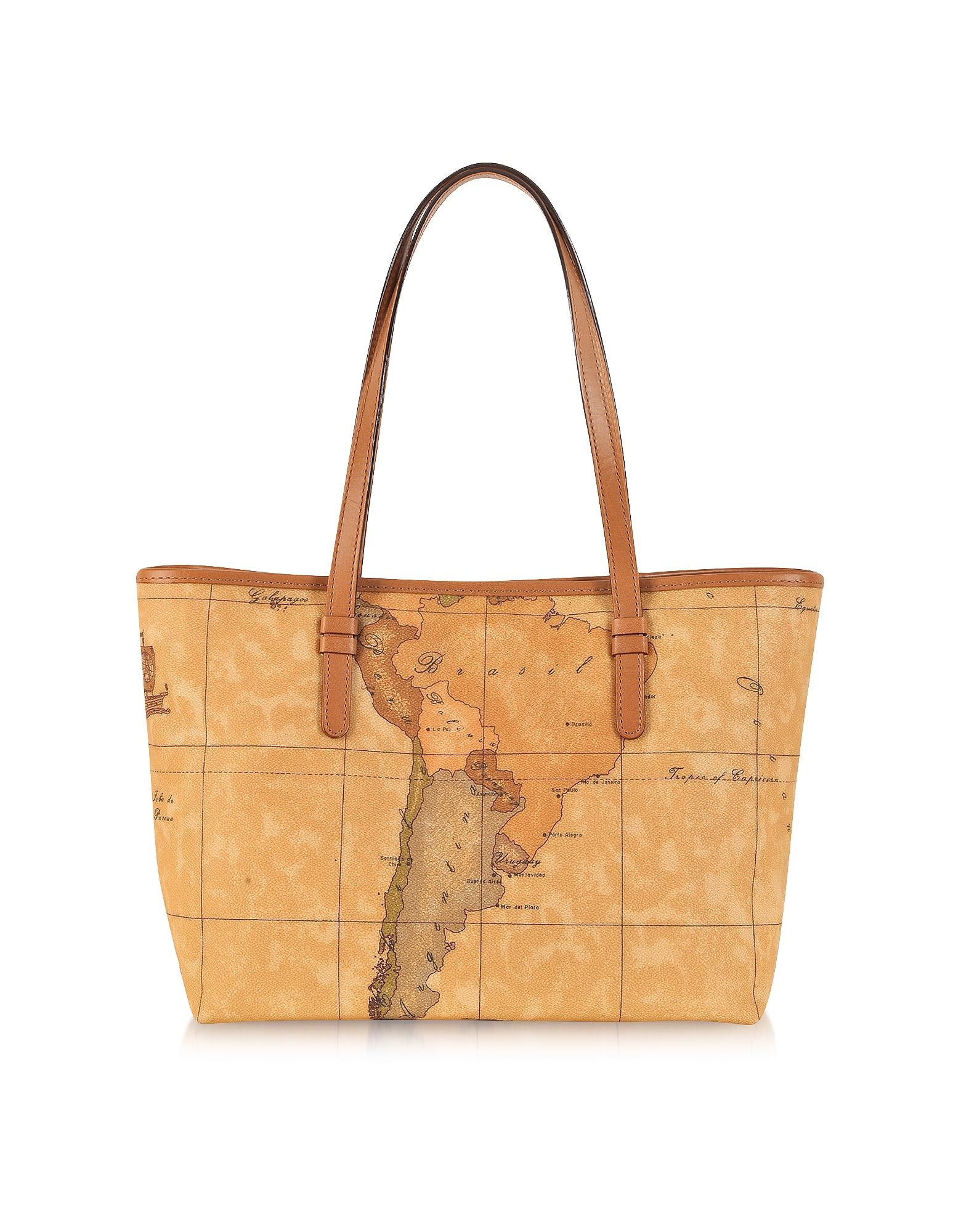 "Image of 1a Prima Classe - Geo Printed Medium ""New Basic"" Tote Bag"