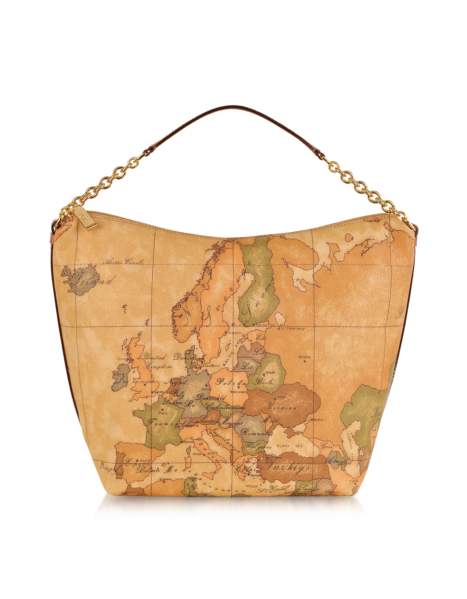 Image of 1a Prima Classe - Geo Printed Medium Contemporary Top Handle Bag