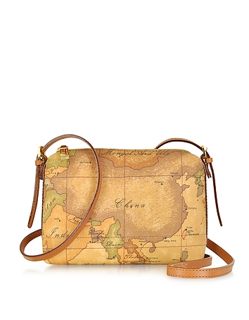 Alviero Martini 1A Classe - 1a Prima Classe - Geo Printed Small Contemporary Shoulder Bag