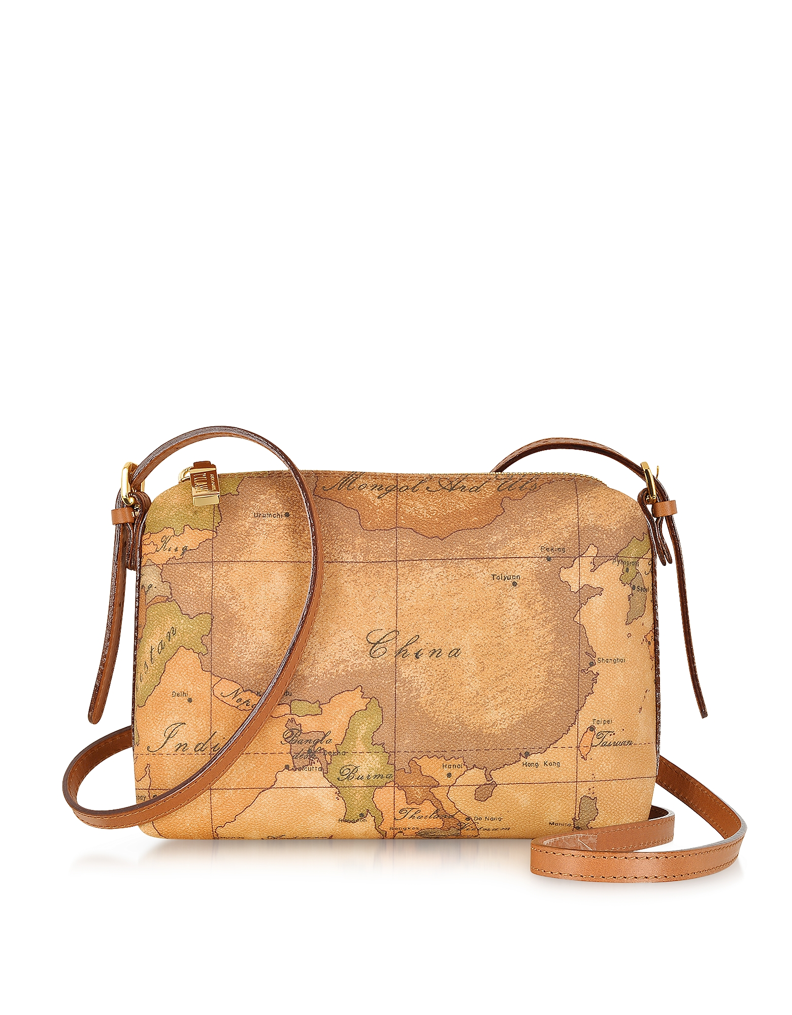 """Image of 1a Prima Classe - Geo Printed Small """"Contemporary"""" Shoulder Bag"""