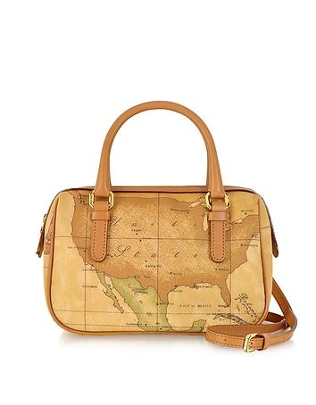 1a Prima Classe - Geo Printed Mini New Basic Satchel Bag