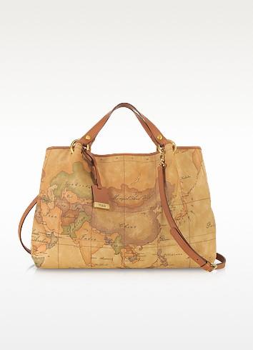 Geo Printed Large 'Contemporary' Handbag - Alviero Martini 1A Classe