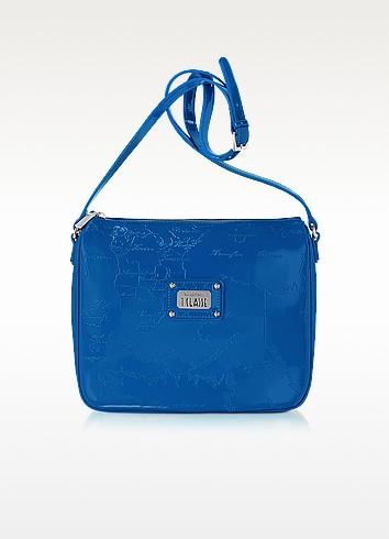 Geo Tutti Frutti - Patent Eco Leather Shoulder Bag - Alviero Martini 1A Classe