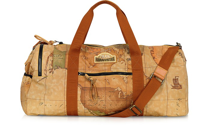 Donnavventura - Soft Geo Duffel Bag - Alviero Martini 1A Classe