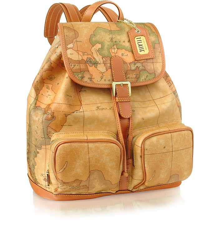 1a Prima Classe - Two Pocket Backpack - Alviero Martini 1A Classe