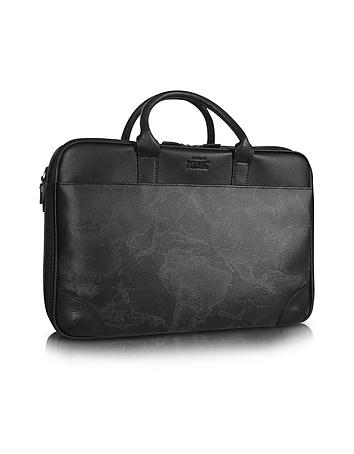 Alviero Martini 1A Classe - 1a Prima Classe - Geo Black Laptop Briefcase