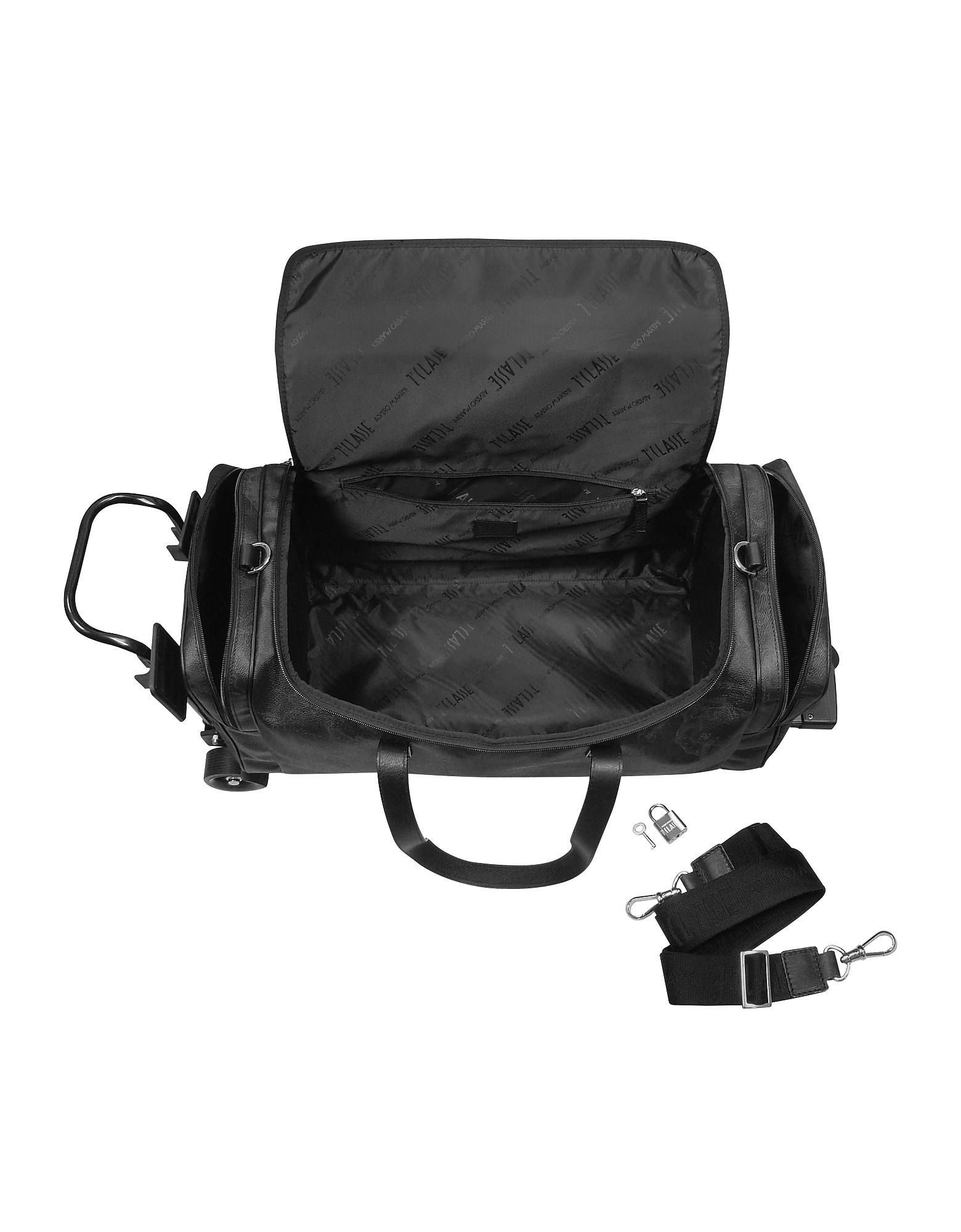 1a Prima Classe - Geoblack Duffel Travel Bag w/Wheels от Forzieri.com INT