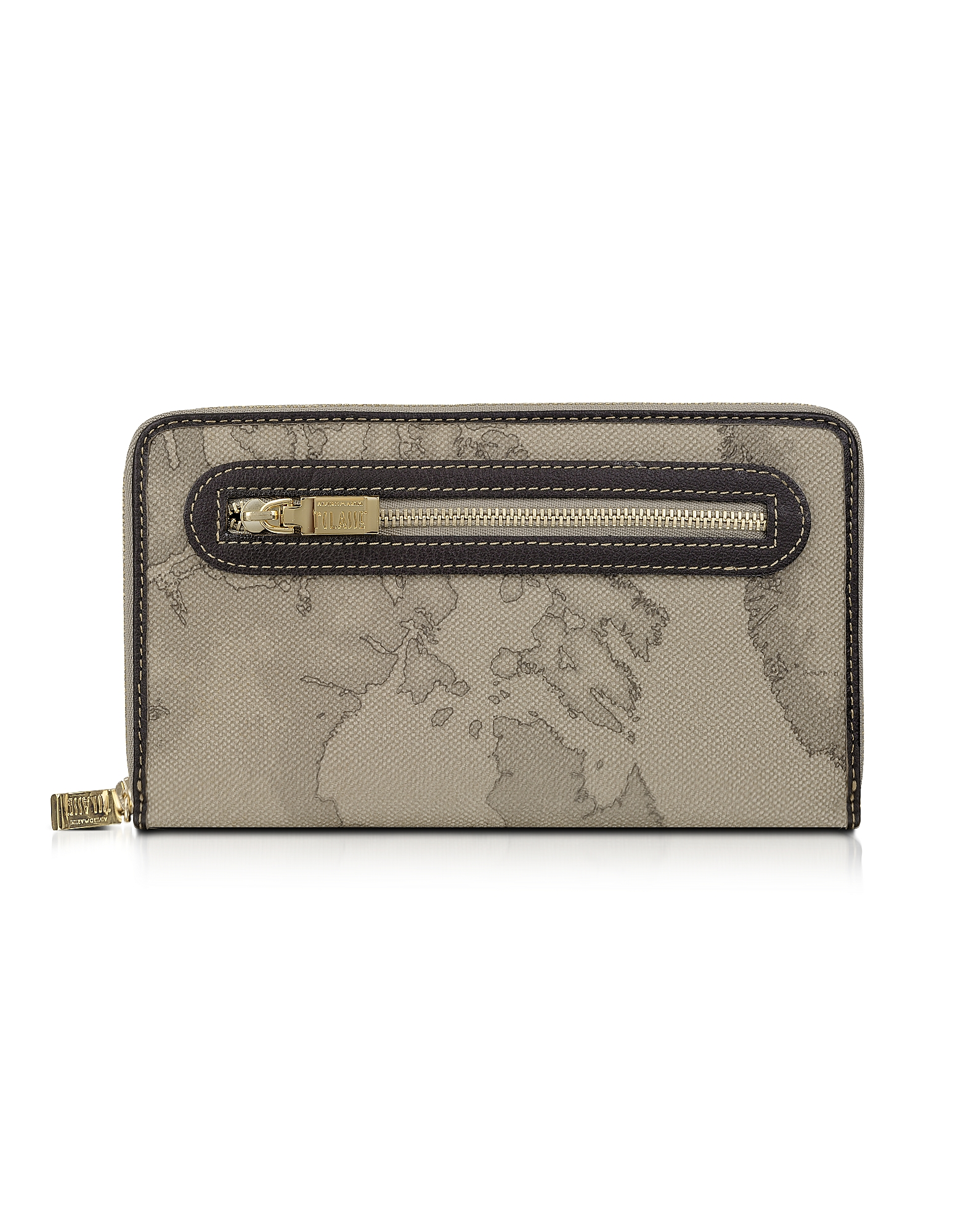 Alviero Martini 1A Classe Wallets, Geo Print Zip Around Wallet
