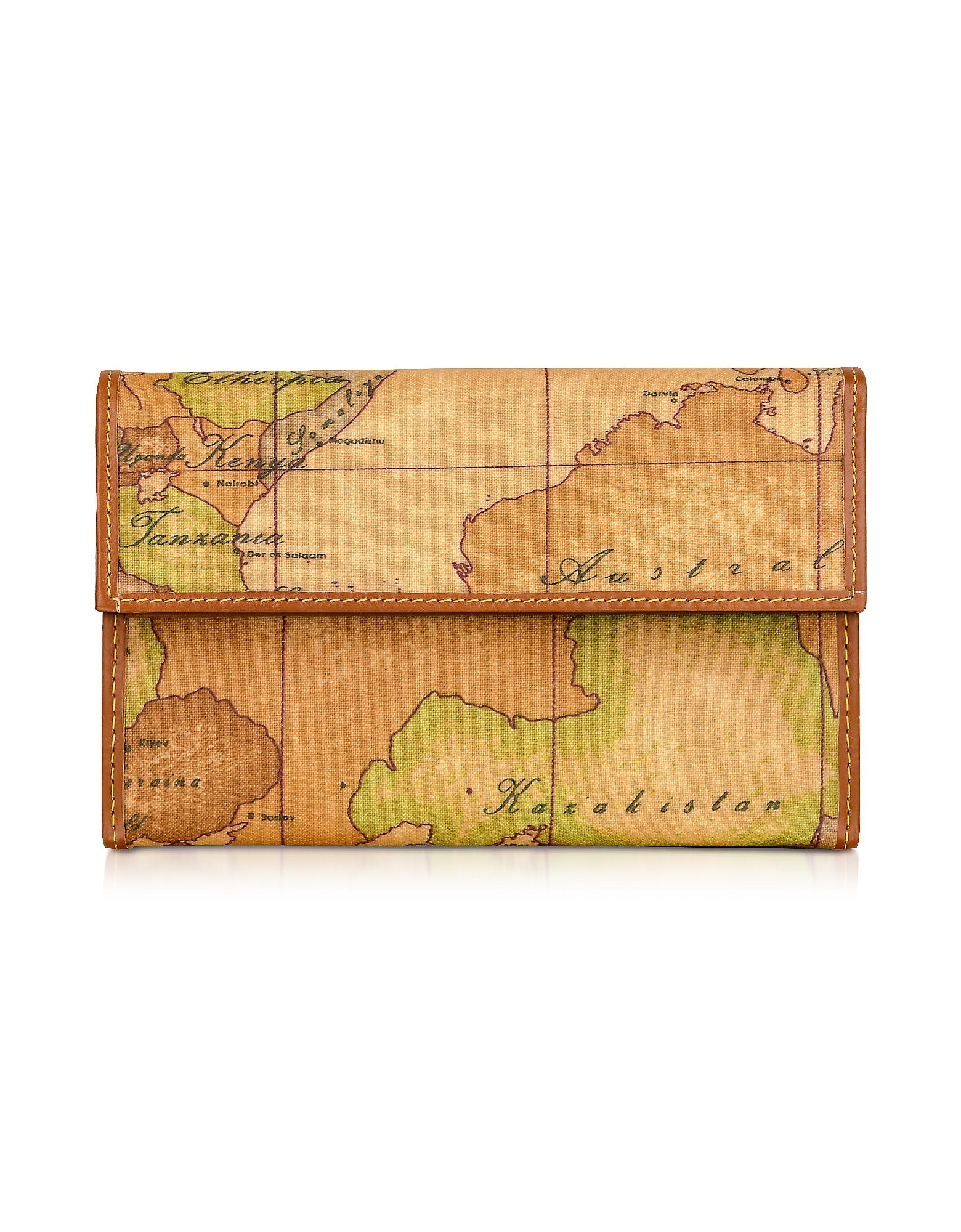 Бумажник с Гео Принтом