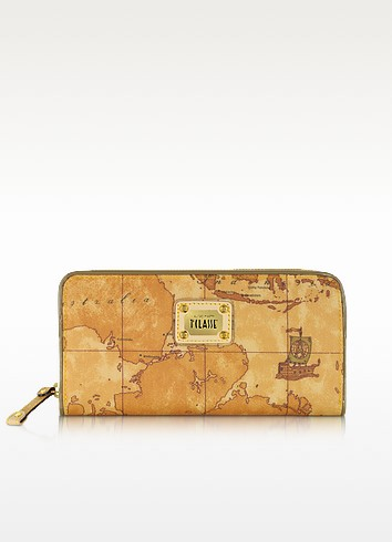 Geo Matelasse - Zip Around Wallet - Alviero Martini 1A Classe