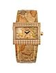 1a Prima Classe - Ladies' Gold Plated Geo Rectangular Dial Watch - Alviero Martini 1A Classe