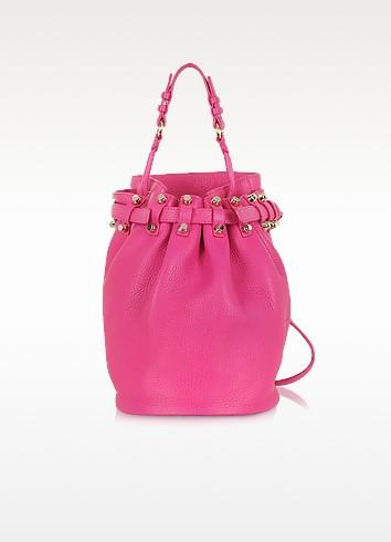 Diego Soft Pebble Flamingo w/Pale Gold Shoulder Bag - Alexander Wang