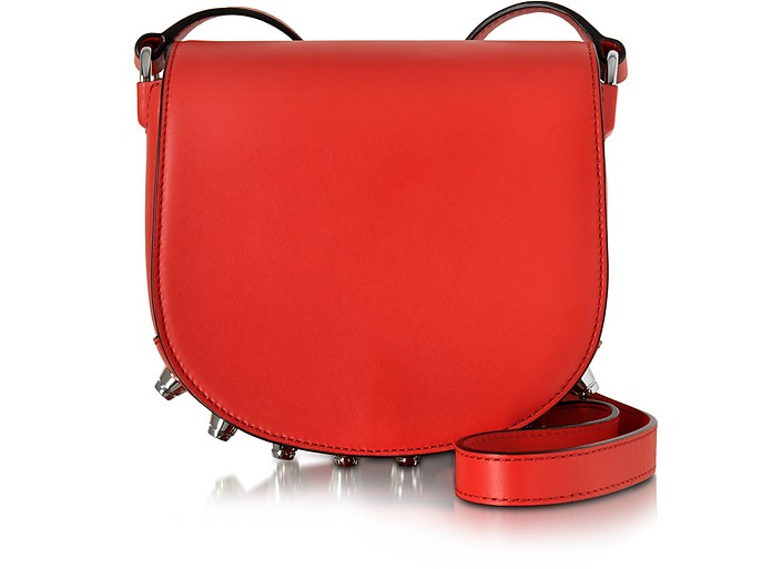 Mini Lia Cult Red Smooth Fine Shiny Leather Crossbody - Alexander Wang