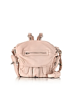 Alexander Wang Mini Marti Zaino in Pelle Washed Rosa Cipria - alexander wang - it.forzieri.com