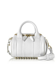 Mini Rockie Peroxide Soft Pebbled Leather Satchel Bag - Alexander Wang