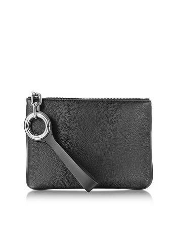Alexander Wang - Riot Black Refined Pebble Leather Pouch