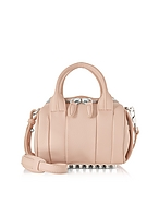 Alexander Wang Mini Rockie Bauletto con Tracolla in Pelle Pale Pink - alexander wang - it.forzieri.com