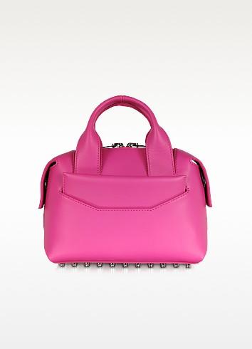 Rogue Small Flamingo Smooth Leather Satchel - Alexander Wang