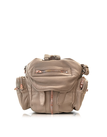 Alexander Wang - Mini Marti Latte Washed Leather Backpack