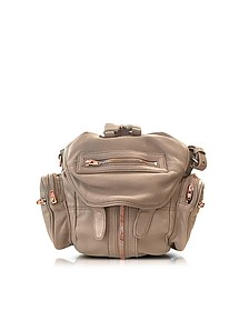 Mini Marti Latte Washed Leather Backpack - Alexander Wang