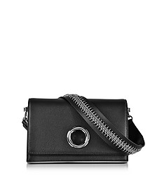 Black Leather Riot Convertible Clutch w/Chain Strap - Alexander Wang
