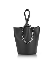 Roxy Mini Black Leather Bucket Bag - Alexander Wang