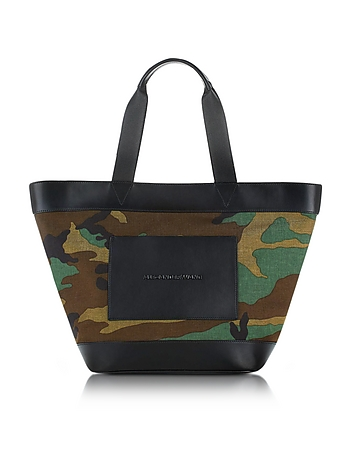 Alexander Wang - Camo Canvas Large Tote