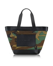 Camo Canvas Large Tote - Alexander Wang