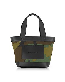 Camo Canvas Small Tote - Alexander Wang