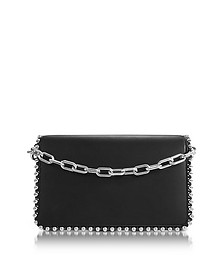 Attica Biker Black Leather Purse w/Ball Studs - Alexander Wang